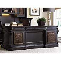 Hooker Furniture Telluride 76 Executive Desk with Leather Top