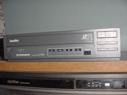 Play Laser (Laserdisc Player Pioneer LD-V2200 Laservision Laser Bar Code With CX System Plays Laser Discs, Laserdisc Laser Videodisc.)