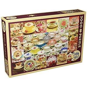 Cobblehill 50706 2000 Pc Teacup Collection Puzzle Vari