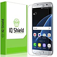 Galaxy S7 Edge Screen Protector, IQ Shield® LiQuidSkin Full Coverage Screen Protector for Galaxy S7 Edge HD Clear Anti-Bubble Film - with Lifetime Warranty