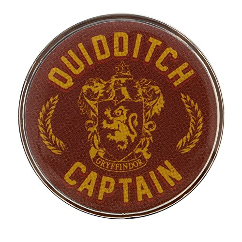 Harry Potter Pin Badge Quidditch Captain Badge 1