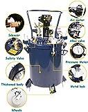 8 Gallon Pressure Feed Paint Pot Tank Sprayer