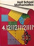 Holt School Math Gr 8 78, Nichols, 0030185866