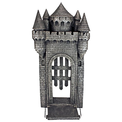 Design Toscano The Medieval Castle Gothic Wall Sculpture - Medieval Sculpture