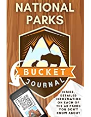 National Parks Bucket Journal: U.S. Stamp Book | Passport Journal for Adults | America Outdoor Adventure Log List Guide | Lodges Planner