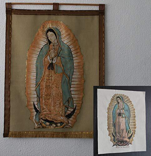 Estandarte e imágenes de la virgen de Guadalupe paquete 1
