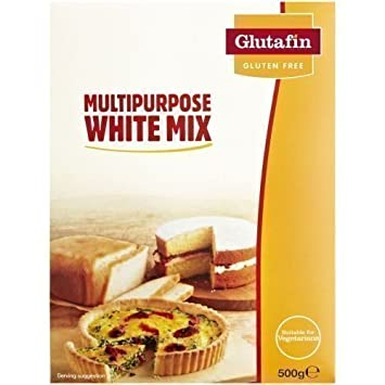 Amazon.com: Glutafin Sin Gluten Multipurpose blanco mix 500 ...