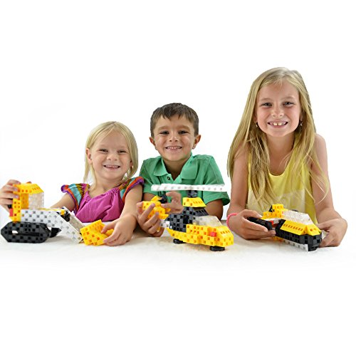 Toys For Age 7 : Click a brick mighty machines pc building blocks set