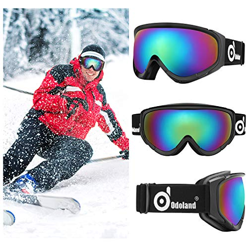Skiing & Snowboarding Beautiful High Quality Double Glare Brightening Lens Ski Goggles Professional Polarized Ski Glasses Multifunctional Lenses For Skiing Mask Soft And Antislippery