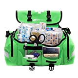 MFASCO - First Aid Kit - Complete Emergency Response Trauma Bag - for Natural Disasters - Green