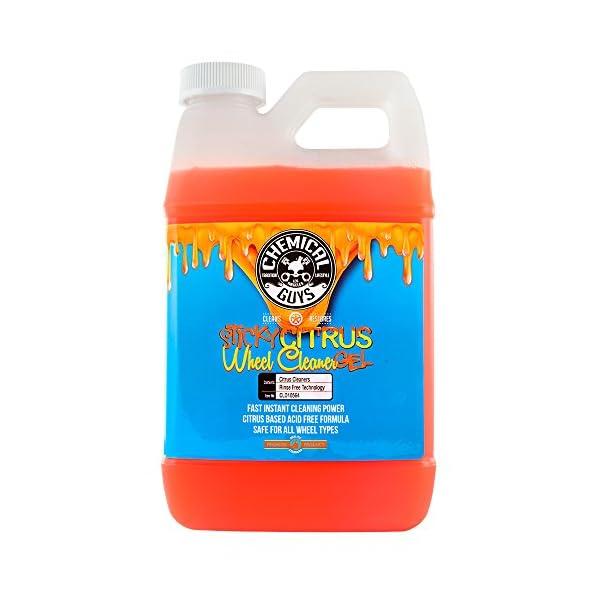 Chemical-Guys-CLD105-Sticky-Citrus-Gel-Wheel-Rim-Cleaner-1-Gal-128-fl-oz-1-Pack