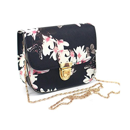Women Bag Flower Zycshang Printing Butterfly Shoulder Black Fashion Cross Bags Messenger Tote Handbag Women Body Bags Bag Sale Women For SSqBwUO