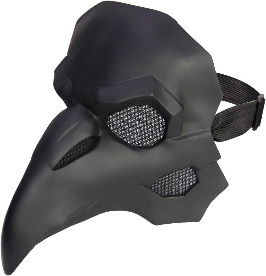 DMAR Doctor De La Peste Máscara, Accesorios Góticos Retro Steampunk, Accesorios De Disfraces Medievales De Halloween, Máscara De Pájaro De Cuero Retro