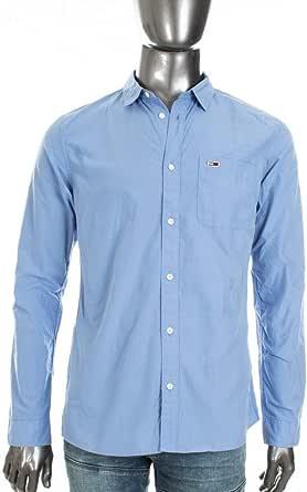 Tommy Hilfiger TJM Solid Poplin Shirt Camisa Casual para Hombre
