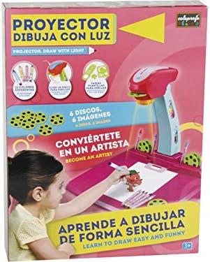 COLEPROFE Proyector Rosa Dibuja con Luz: Amazon.es: Juguetes y juegos