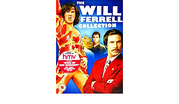 The Will Ferrell Collection - 6-DVD Boxset Anchorman: The ...