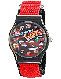 Kids' W001711 Cars Analog Red Watch