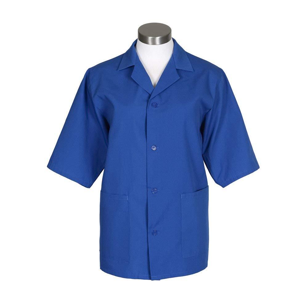Mid-length Sleeves MD Black Fame Fabrics 82337 K71 Unisex Smock