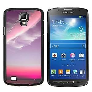 Eason Shop / Premium SLIM PC / Aliminium Casa Carcasa Funda Case Bandera Cover - Pink Sky Plano Nubes Sunset - For Samsung Galaxy S4 Active i9295