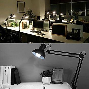 Ikea Antifoni Table Lamp Work Reading Adjustable Nickel