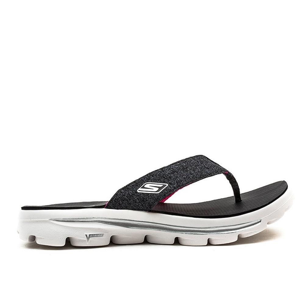 Details about SKECHERS USA Inc Skechers Go Walk Move Solstice Womens Flip Flop Sandals