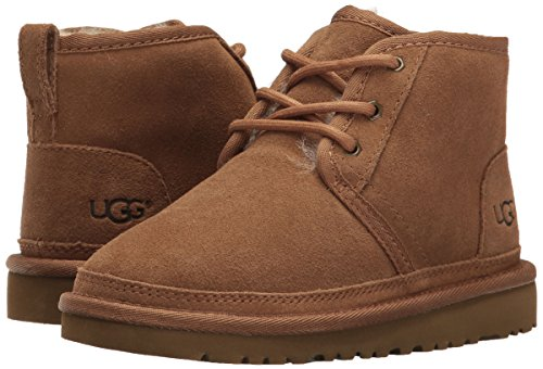 UGG Boys K Neumel Pull-on Boot, Chestnut, 1 M US Little Kid by UGG (Image #6)