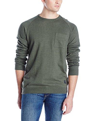 O'Neill Men's Presidio Sweater, Army, X-Large ()