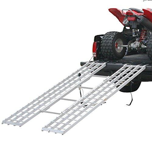 Rage Powersports Black Widow Aluminum Tri-Fold ATV Loading Ramp - 85