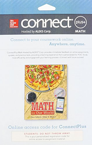 Connect Math Hosted By Aleks Access Card 52 Weeks For Math In Our World