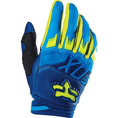 Fox Racing 2016 Dirtpaw Race Men's MotoX Motorcycle Gloves - Blue/Yellow / (Fox Racing Motorcycle)