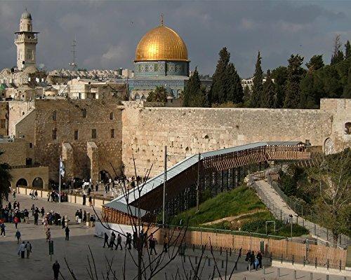 The Wailing Wall in Jerusalem 8x10 (Wailing Wall)