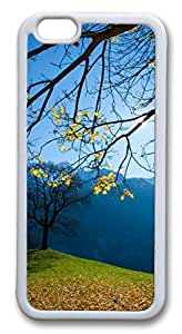 iphone 6 plus 5.5inch Case and Cover Autumn Schachental Switzerland TPU Silicone Rubber Case Cover for iphone 6 plus 5.5inch White