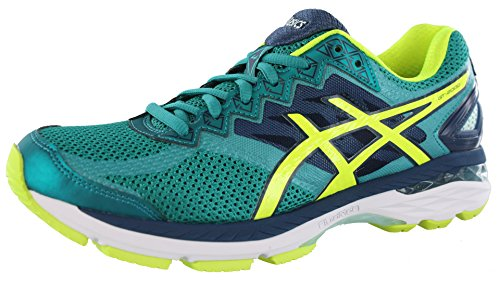 ASICS Women's Gt-2000 4 Running Shoe, Lapis/Safety Yellow/Soothing Sea, 6.5 M (Lapis Treasure)