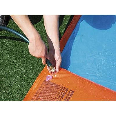 Bestway Triple Water Slide, Multicolor: Toys & Games