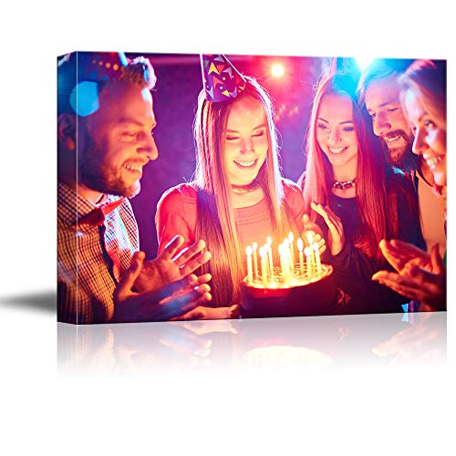 NWT Custom Canvas Prints with Your Photos Anniversary Ideas, Personalized Canvas Pictures for Wall to Print Framed 8x10 inches