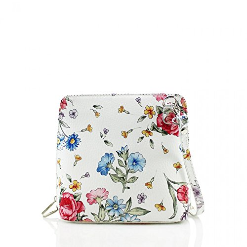 Small Ladies Italian Designer CWV0026 Bag FORAL Leather Women's Body Cross Fashion Quality qtt6a