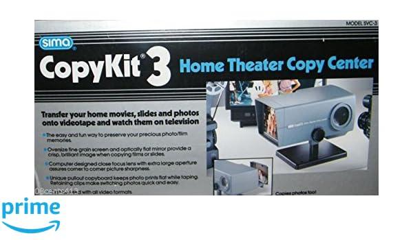 Amazon com: Sima Copy Kit 3 Home Theatre Copy Center
