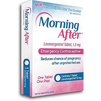 Morning AfterTM Levonorgestrel Tablet, 1.5 mg Emergency Contraceptive Pill