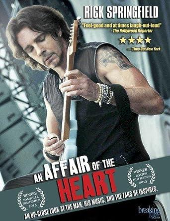 Amazon Com An Affair Of The Heart Rick Springfield Rick