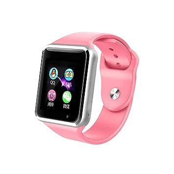 Reloj Inteligente GPS Rastreador Localizador Anti-Lost Seguridad Niños Reloj Pulsera SOS Llamadas SIM Podómetro Smartwatch Compatible con iPhone Y Android ...