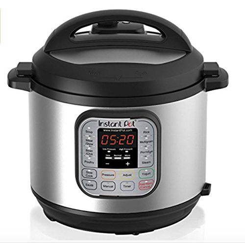 NEWEST Instant Pot DUO650 6 Qt 7-in-1 Multi-Use Programmable Pressure Cooker, Slow Cooker, Rice Cooker, Steamer, Sauté, Yogurt Maker and Warmer (Packaging May Vary)