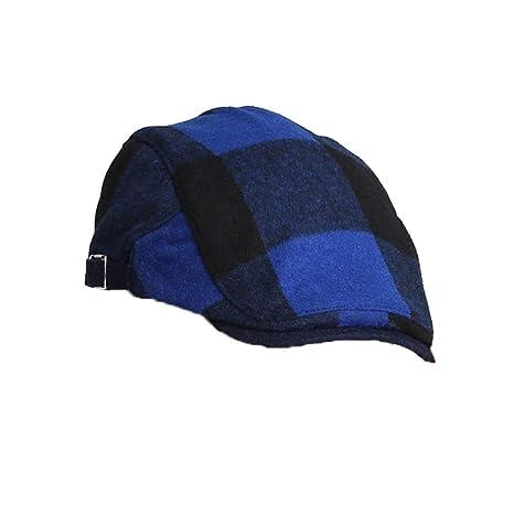 Tapas para Hombre Tweed Planas Mount Hood Unisex Gorra Plana,Azul ...