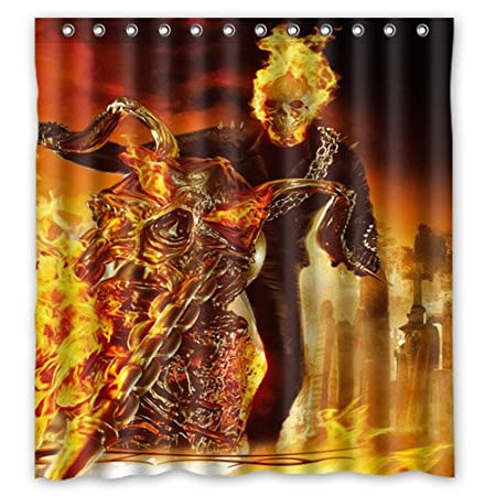 60 Quotx72quot Ghost Rider Nicolas Cage Shower Curtain