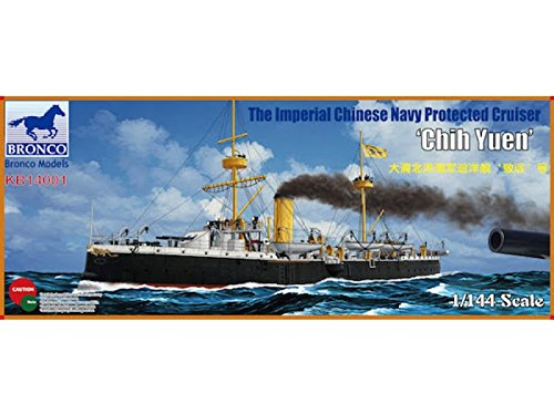 Bronco Models The Imperial Chinese Navy Protected Cruiser Chih Yuen Model Kit