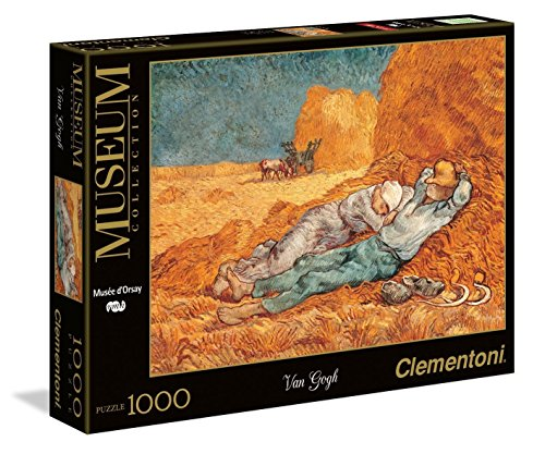 Van Gogh - The Siesta Jigsaw Puzzle, 1000 Pieces, Made in Italy (Monet Van Gogh)