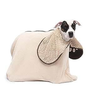 Dog Gone Smart Zip n' Dri, Medium, Khaki