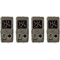 (4) Cuddeback Dual Flash with Cuddelink 20MP Invisible Infrared Game Trail Camera | 1361