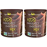 Chocolate Drink Mix Powder For Kids - All Natural, Dairy-Free, Vegan Chocolate Milk Mix - Just Add Any Milk Substitute…