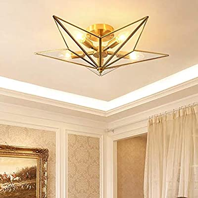 Blzz Star Lights Bedroom Ceiling Light Simple Room