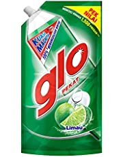 Glo Active Foam Lime Dishwashing Liquid 850ml Refill